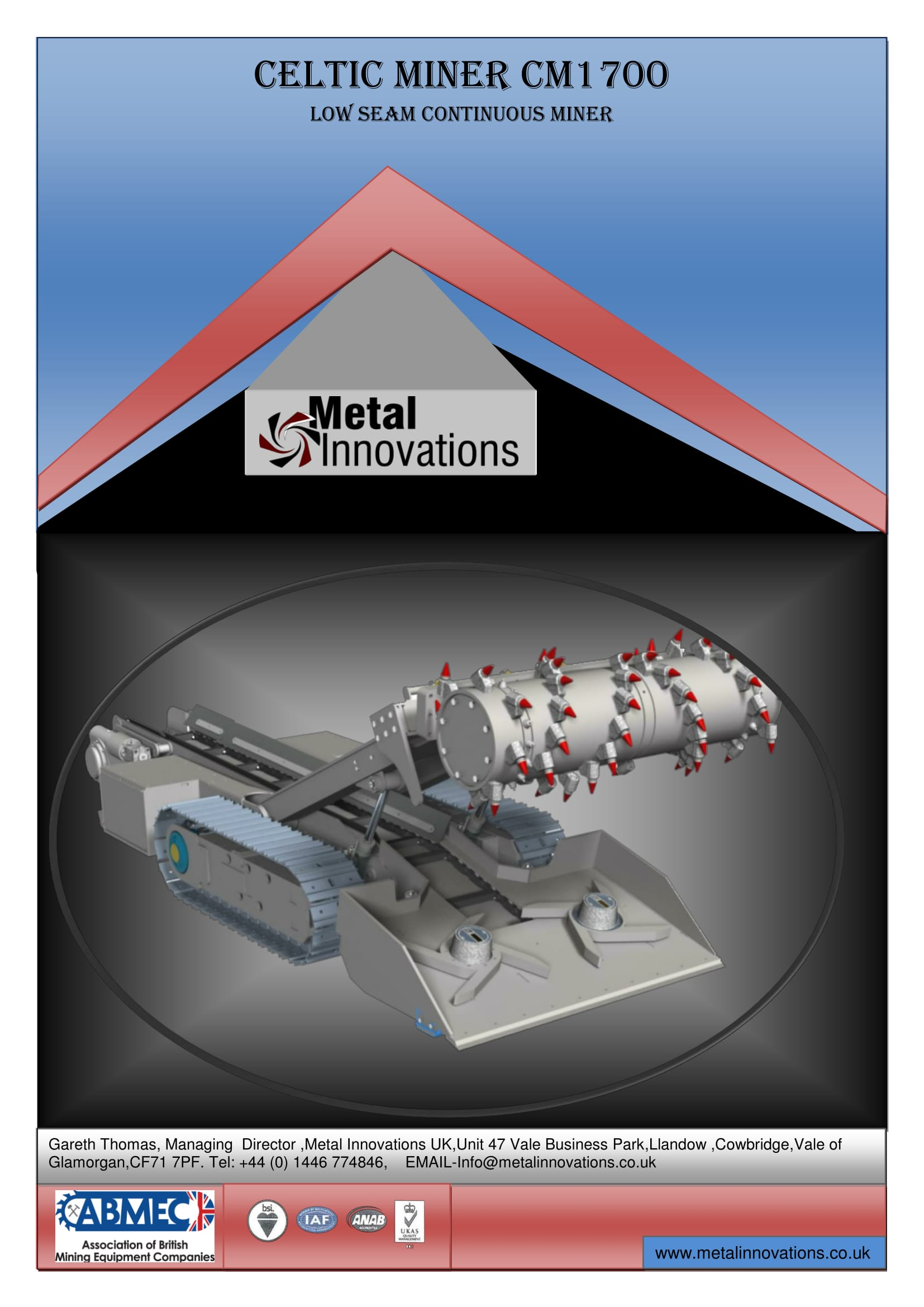 CM1700 - Metal Innovations - Home of the Celtic Miner